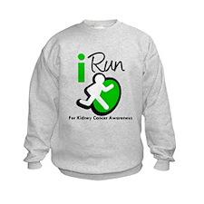 I Run KidneyCancerAwareness Sweatshirt