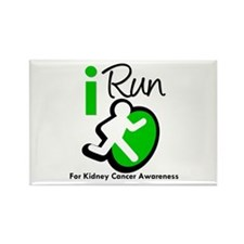 I Run KidneyCancerAwareness Rectangle Magnet