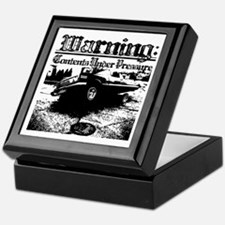 Cute Black and white sexy Keepsake Box