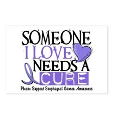 Needs A Cure ESOPHAGEAL CANCER Postcards (Package