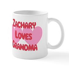 Zachary Loves Grandma Mug