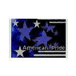 American Pride Rectangle Magnet
