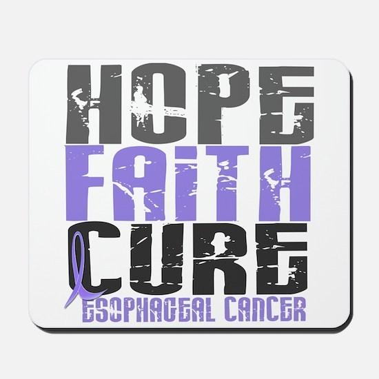 HOPE FAITH CURE Esophageal Cancer Mousepad