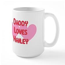 Daddy Loves Hailey Mug