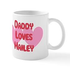 Daddy Loves Hailey Small Mug