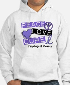 PEACE LOVE CURE EsophCanc (L1) Hoodie