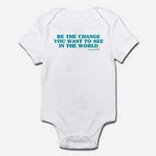 Be The Change You Want Onesie