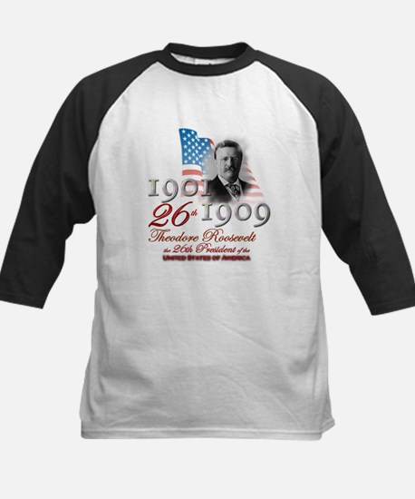 26th President - Kids Baseball Jersey