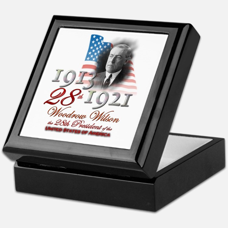 28th President - Keepsake Box