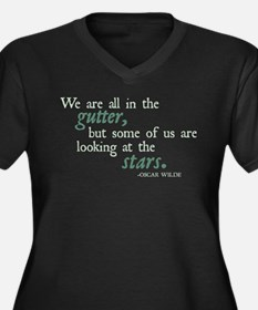 We Are All in the Gutter Women's Plus Size V-Neck