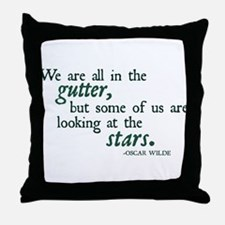 We Are All in the Gutter Throw Pillow