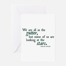 We Are All in the Gutter Greeting Cards (Pk of 10)