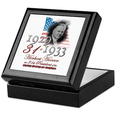 31st President - Keepsake Box