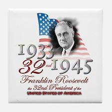 32nd President - Tile Coaster