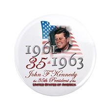 "35th President - 3.5"" Button"