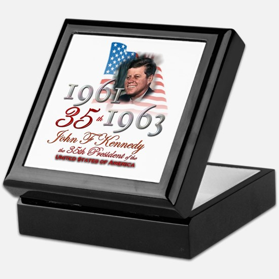 35th President - Keepsake Box
