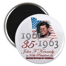 35th President - Magnet