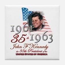 35th President - Tile Coaster