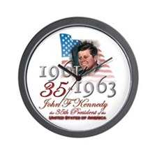 35th President - Wall Clock