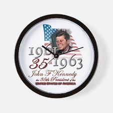 35th President - Wall Clock