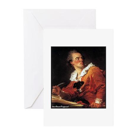 "Faces ""Fragonard"" Greeting Cards (Pk of 10)"