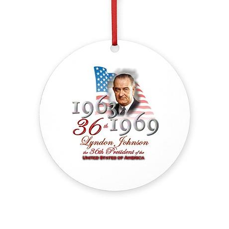 36th President - Ornament (Round)