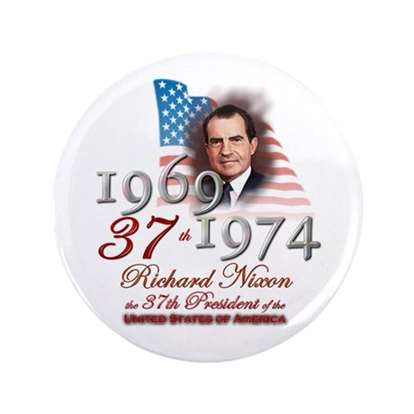 "37th President - 3.5"" Button (100 pack)"