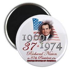37th President - Magnet