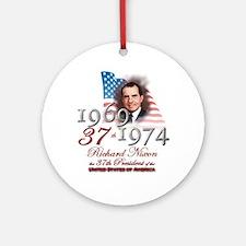 37th President - Ornament (Round)