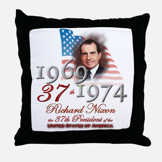 37th President - Throw Pillow