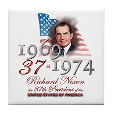 37th President - Tile Coaster