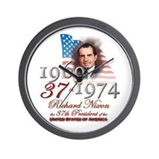 37th President - Wall Clock