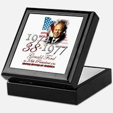38th President - Keepsake Box