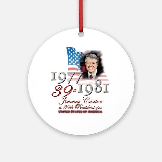 39th President - Ornament (Round)