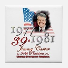 39th President - Tile Coaster