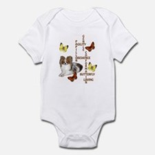 papillon crossword puzzle Infant Bodysuit