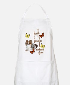 papillon crossword puzzle BBQ Apron