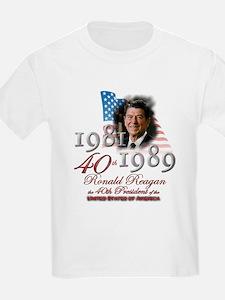 40th President - T-Shirt