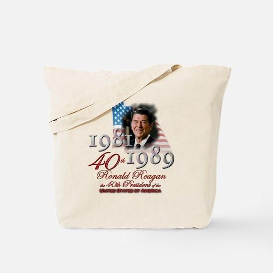 40th President - Tote Bag