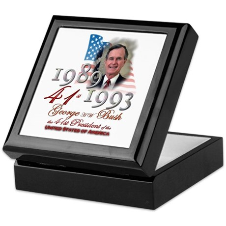41st President - Keepsake Box