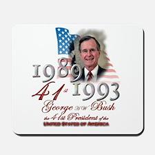 41st President - Mousepad
