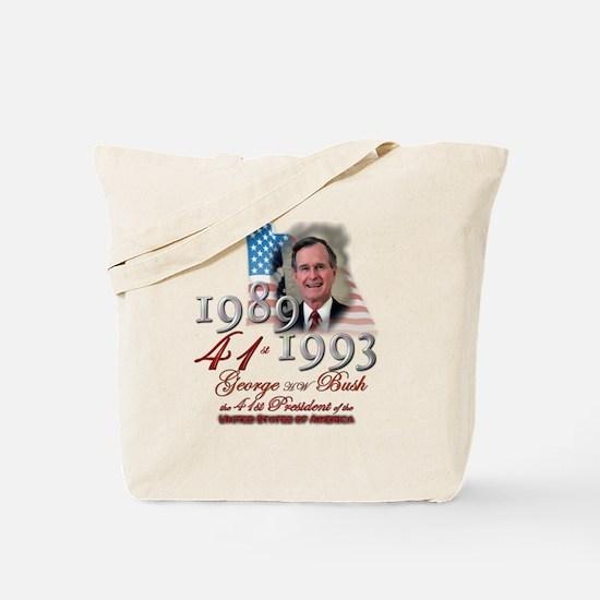 41st President - Tote Bag