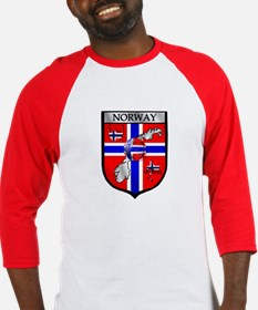 Norge Norwegian Soccer Shield Baseball Jersey