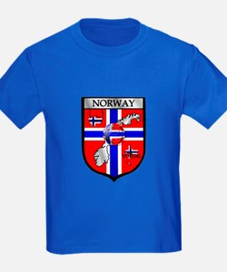 Norge Norwegian Soccer Shield T
