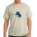 Blue Dachshund Light T-Shirt