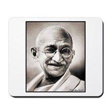 "Faces ""Gandhi"" Mousepad"