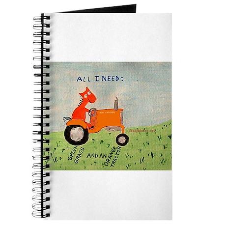 Orange Tractor Journal