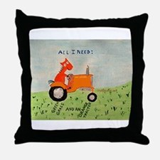Cool Allis chalmers Throw Pillow