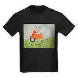 Kubota Kids T-shirts (Dark)