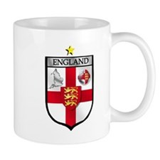 England Soccer Shield Mug